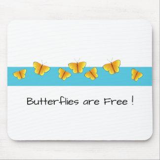 Tapis De Souris Butterflies_are_Free (c) __Unisex