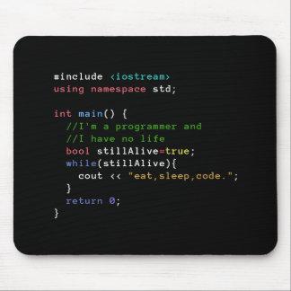 Tapis De Souris C++ La boucle infinie mangent le code Mousepad de