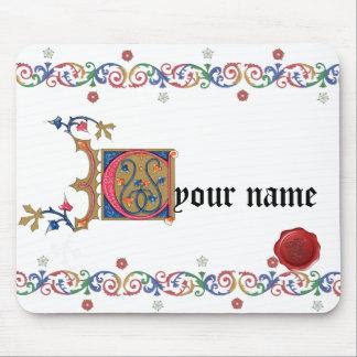 Tapis De Souris C Mousepad médiéval