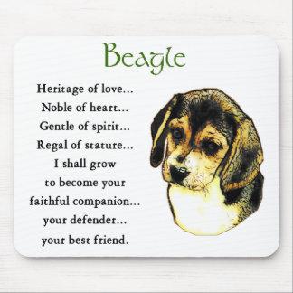 Tapis De Souris Cadeaux de beagle