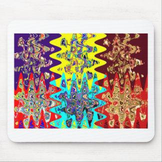 Tapis De Souris CADEAUX graphiques géométriques colorés EXOTIQUES