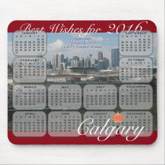 Tapis De Souris Calendrier de Calgary 2016