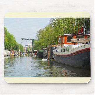 Tapis De Souris Canal à Amsterdam