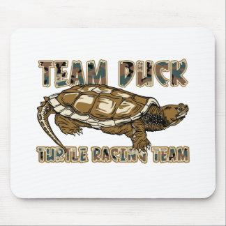 Tapis De Souris Canard d'équipe - équipe d'emballage de tortue