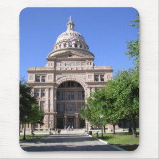 Tapis De Souris Capitol Bâtiment-Austin, TX d'état du Texas