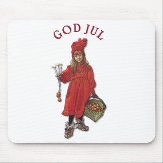 Tapis De Souris Carl Larsson Brita comme Iduna dit Dieu juillet
