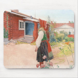 Tapis De Souris Carl Larsson - la maison de Falun