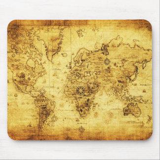 Tapis De Souris Carte de trésor/pirate Mousepad