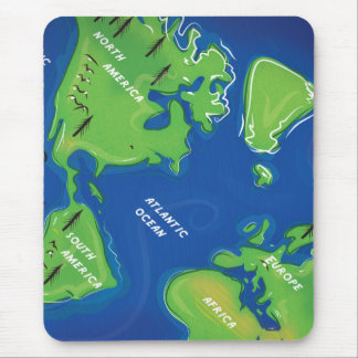 Tapis De Souris Carte du monde