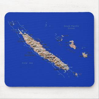 Tapis De Souris Carte Mousepad de la Nouvelle-Calédonie