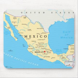 Tapis De Souris Carte politique du Mexique