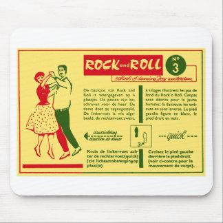 Tapis De Souris Carte vintage de les années 50 de Néerlandais de