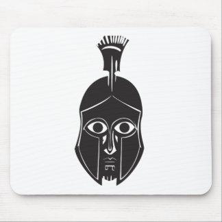 Tapis De Souris Casque de Grec de Hoplite