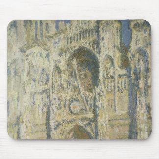 Tapis De Souris Cathédrale de Claude Monet | Rouen à la pleine