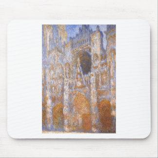 Tapis De Souris Cathédrale de Rouen, le portail à midi par Claude