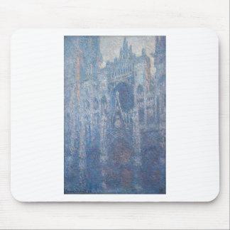 Tapis De Souris Cathédrale de Rouen, temps clair par Claude Monet