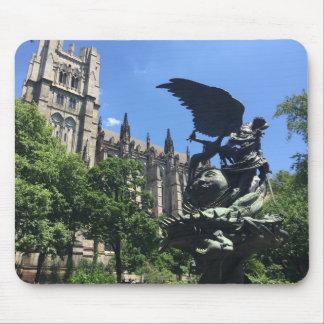 Tapis De Souris Cathédrale de St John le divin, New York City NY