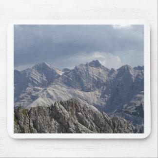 Tapis De Souris Chaîne de Karwendel dans les Alpes bavarois