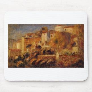 Tapis De Souris Chambres chez Cagnes par Pierre-Auguste Renoir