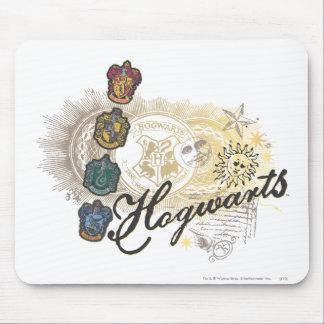 Tapis De Souris Chambres de Harry Potter | Hogwarts - polychromes