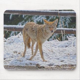 Tapis De Souris Chasse femelle de coyote dans le #Gift Mousepad de