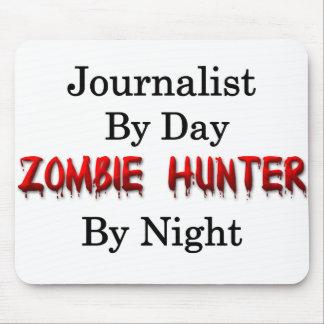 Tapis De Souris Chasseur de journaliste/zombi