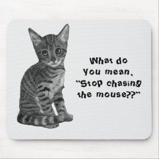 tapis de souris dessin humoristique chat personnalis s. Black Bedroom Furniture Sets. Home Design Ideas