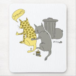 Tapis De Souris chat de jaguar