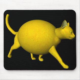 Tapis De Souris Chat Doux-Aigre de citron