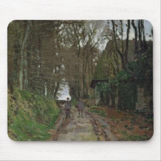 Tapis De Souris Chemin de Claude Monet   en Normandie