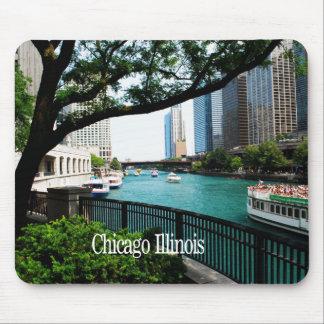 Tapis De Souris Chicago l'Illinois