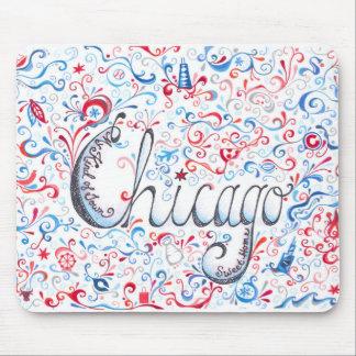 Tapis De Souris Chicago Mousepad
