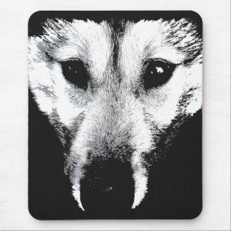 Tapis De Souris Chiens de chien de traîneau de Malamute de cadeaux