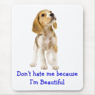 Tapis De Souris Chiot de beagle - ne me détestez pas que je suis