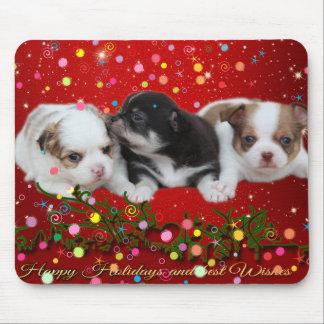 Tapis De Souris Chiots de vacances (chiens)
