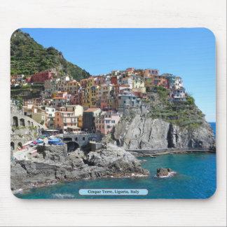 Tapis De Souris Cinque Terre, Ligurie, Italie