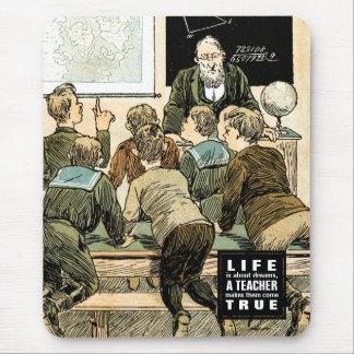 Tapis De Souris Citation de enseignement | cadeau vintage