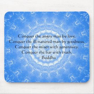 Tapis De Souris Citation inspirée de motivation de Bouddha