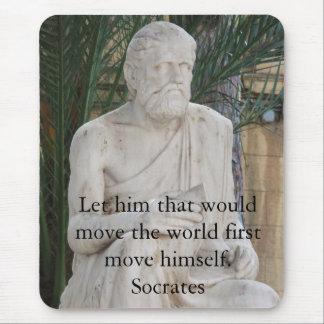 Tapis De Souris Citation inspirée de Socrates