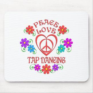 Tapis De Souris Claquettes d'amour de paix
