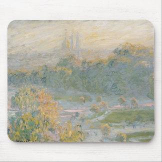 Tapis De Souris Claude Monet   le Tuileries 1875