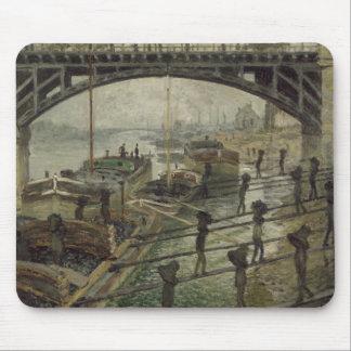 Tapis De Souris Claude Monet - les charbonniers