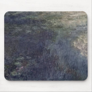 Tapis De Souris Claude Monet   les nénuphars les nuages 1914-18