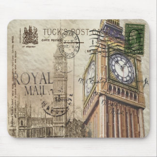 Tapis De Souris Clocktower grand Ben de la Grande-Bretagne