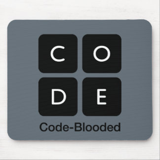 Tapis De Souris Code-Blooded
