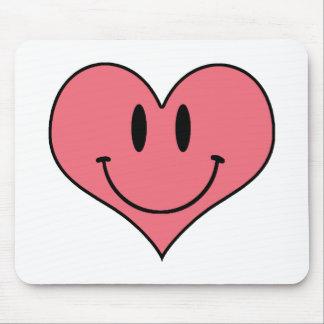 Tapis De Souris Coeur de sourire mignon, amoureux de l'amour de