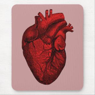Tapis De Souris Coeur humain anatomique