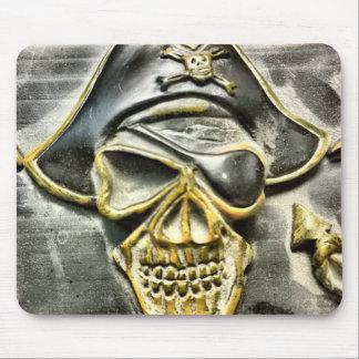 Tapis De Souris Coffre au trésor de pirate de jolly roger