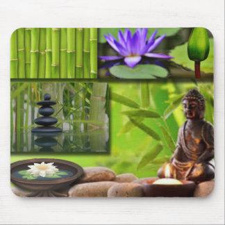 Tapis De Souris Collage de Bouddha