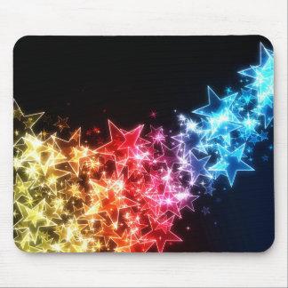 Tapis de souris coloré d'étoiles